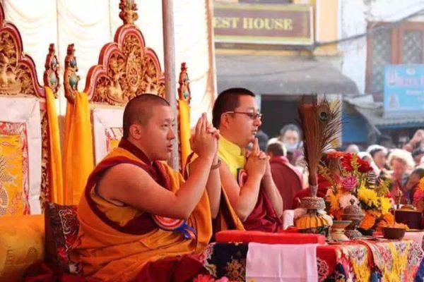 With Khyentse Rinpoche