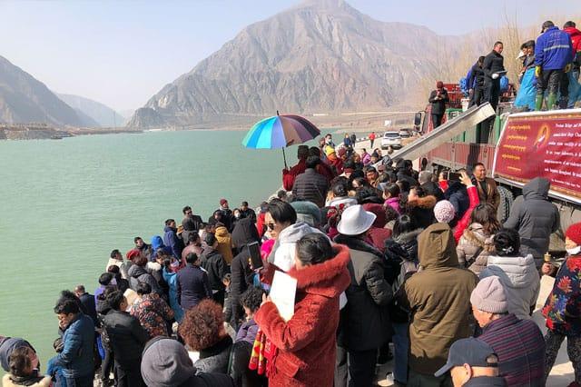 Fish Release in Tibet